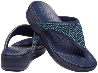 Crocs Monterey Diamante 206343 Navy Sandal