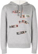 Valentino printed hoodie