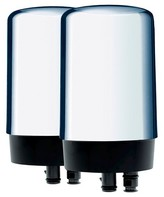 Brita On Tap Faucet Water Filter System Replacement Filters 2 ct - Chrome