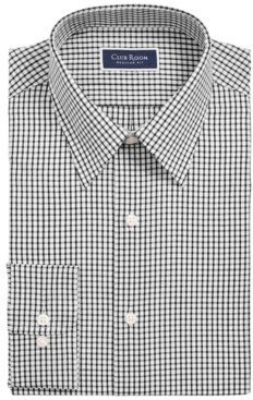 Club Room Men's Classic/Regular-Fit Check Dress Shirt, Created for Macy's