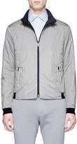 Armani Collezioni Reversible crinkled jacket