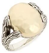 John Hardy Women's Chain Hammered Ring