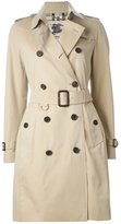 Burberry 'Kensington' belted trench coat - women - Cotton/Viscose - 4