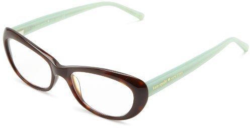 Kate Spade Celeste Celeste Cat Eye Reading Glasses,Tortoise Mint 2.5,51 mm