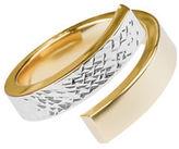 Fine Jewellery 14K Yellow Gold Two-Tone Swirl Ring
