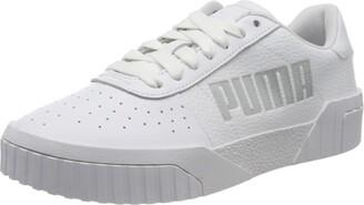 Puma Women's Cali Statement WNS Sneakers White White Black 01 7.5 UK 41 EU