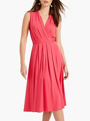Phase Eight Sleeveless Pauline Dress, Pink