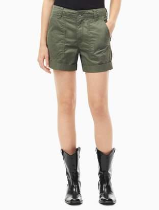 Calvin Klein Utility Rolled Shorts