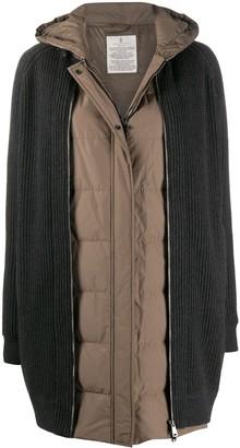 Brunello Cucinelli Layered Zip-Up Jacket