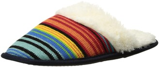 K. Bell Socks K. Bell Women's Variegated Stripe Slipper