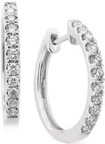 Effy Pavé Classica by Diamond Hoop Earrings (1/2 ct. t.w.) in 14k Yellow, White or Rose Gold