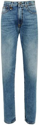 R 13 Axl High-Rise Straight-Leg Jeans