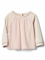 Gap Shimmer dots tulle top