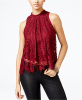 American Rag Lace Halter Top, Only at Macy's