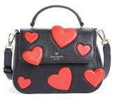 Kate Spade Be Mine Small Alexya Heart Leather Satchel - None