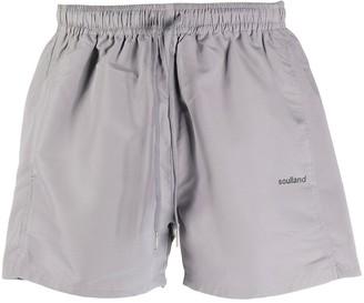 Soulland Drawstring Waist Track Shorts