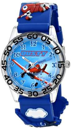 """Disney Kids' W001526 """"Time Teacher Planes Fire & Rescue Watch With 3-D Band"""