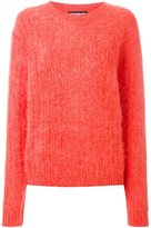 House of Holland ribbed oversized jumper