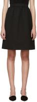 Erdem Black Jacquard Kitty Skirt