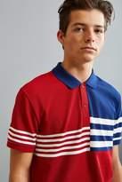 Lacoste Semi Fancy Striped Pique Polo Shirt