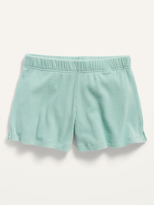 Old Navy Cozy Rib-Knit Lounge Shorts for Girls