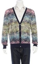 Missoni Zigzag V-Neck Cardigan