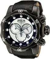 Invicta Men's 15985 Venom Analog Display Swiss Quartz Black Watch