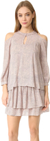 Derek Lam 10 Crosby Long Sleeve Cold Shoulder Dress