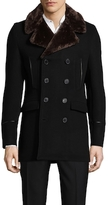 The Kooples The Soft Military Wool Parka