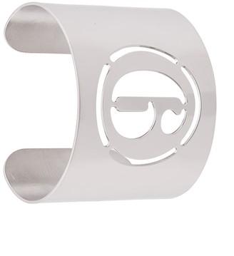 MM6 MAISON MARGIELA Engraved Logo Cuff Bracelet