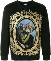 Les Benjamins portrait motif sweatshirt