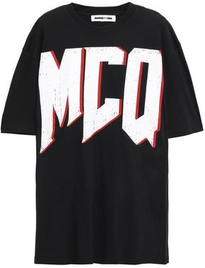 McQ Printed Cotton-jersey T-shirt