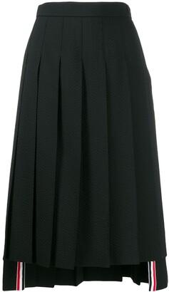 Thom Browne Mid-Length Pleated Skirt