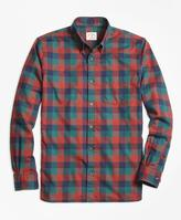 Brooks Brothers Buffalo Check Flannel Sport Shirt