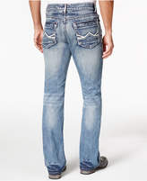 INC International Concepts Men's Mordern Bootcut Light Blue Wash Jeans, Only at Macy's