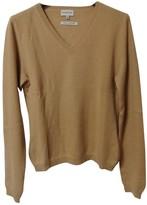 Moncler Camel Cashmere Knitwear