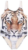 LOSORN ZPY Toddler Baby Girls Boys Swimwear Tiger One Piece Swimsuit Bathing Suit 110