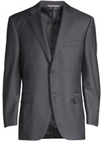 Thumbnail for your product : Canali Regular Fit Solid Two-Piece Suit