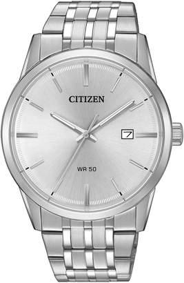 Citizen Quartz Silvertone Analog B15000-52A Watch