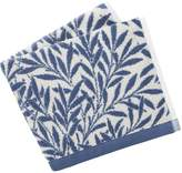 House of Fraser Morris & Co Morris & co willow bath towels china blue