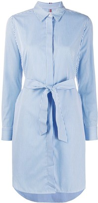 Tommy Hilfiger Belted Shirt Dress