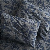 CB2 set of 2 The Hill-Side tropical leaves standard pillowcases