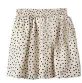 Legou Women's Chiffon Loose Elastic Waist Cute Mini Skirt