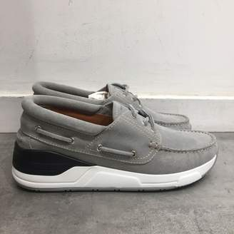 Givenchy Grey Suede Trainers