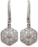 Stephen Webster 18K White Gold Deco .66ct. Diamond Dangle Earrings