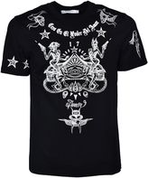 Givenchy Tattoo Print T-shirt