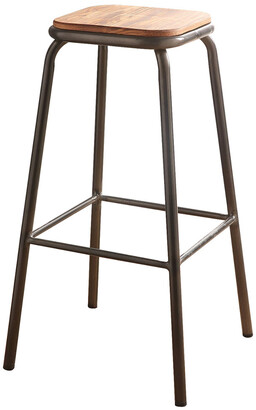 ACME Furniture Set Of 2 Acme Scarus Bar Stools