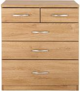 Very Peru 3 + 2 Graduated Chest of Drawers