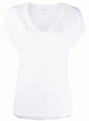 Majestic Filatures v-neck plain T-shirt