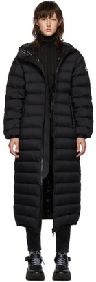 Moncler Black Down Grue Long Coat